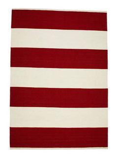 Band Stripe - Crimson & White