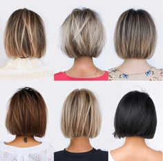 Bob Hairstyles For Thick, Hairstyles Over 50, Blunt Bob Haircuts, Bob Haircuts For Women, Layered Bob Hairstyles, Thick Curly Hair, Curly Hair Styles, Hair Color For Black Hair, Hair Dos