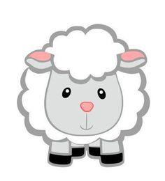 Sheep Bless Ewe Silhouette SVG Cutting Digital File Only Granja Dibujo, Dibujo De Ovejas, Ovejas Man. Eid Crafts, Ramadan Crafts, Art Drawings For Kids, Easy Drawings, Farm Animals, Cute Animals, Sheep Cartoon, Eid Stickers, Baby Lamb