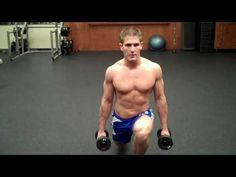 Dumbbell Stepping Lunge - this has a good explanation of hows & whys
