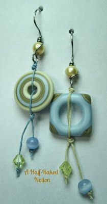 Outwest lampwork  with Tori Sophia earwires