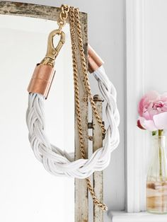 How to turn humble hardware-store materials into a rope necklace