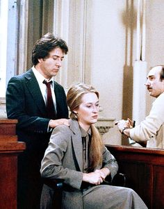 "mrsstreep: "" Dustin Hoffman and Meryl Streep on set of Kramer vs Kramer, 1979 "" Kramer Vs Kramer, Pasadena Playhouse, Digital History, The English Patient, Dustin Hoffman, Film Genres, Clint Eastwood, Meryl Streep, Best Actress"