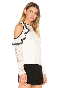 Alexis Millie Top in White | REVOLVE