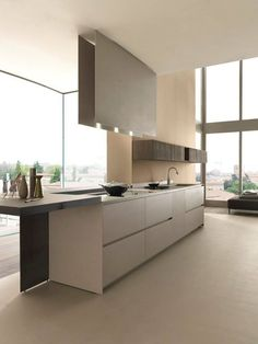 Modern Luxury Kitchens For A Grand Kitchen Luxury Kitchen Design, Luxury Kitchens, Interior Design Kitchen, Home Kitchens, Grand Kitchen, Kitchen Dining, Kitchen Decor, Cocinas Kitchen, Luxury Homes Interior