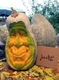 These Halloween horrors were all carved out of humble pumpkins
