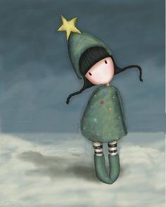 Xmas Eve - Suzanne Woolcott (gorjuss) - Christmas