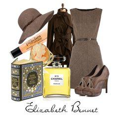 """Elizabeth Bennet"" by johnlockers on Polyvore"