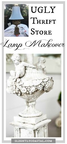 You won't believe the before and after of this French Country lamp makeover!
