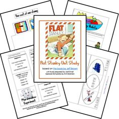 Flat Stanley Unit Study Lessons  and Lapbook Printables
