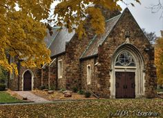 A Country Church via Wistfully Country Photo by T. Boardman