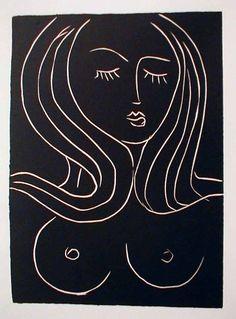 Matisse, Nude, 1944.