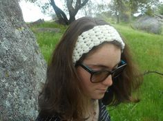 This puff stitch ear warmer is the perfect way to keep your ears warm in the cool winter months and chilly spring mornings. It is made from a light cream color and stretches to accommodate different sized heads. It can be worn headband style or ear warmer style, as is shown the photos.  Care Instructions: Machine wash cold and air dry.  Dimensions: -2 1/2 inches wide -18 inches circumference -9 inches long when laid flat -Fits the average teen and adult, up to heads approximately 24 inch...