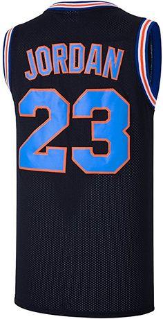 a62caebc4bf Amazon.com  RAAVIN 23  Bunny Space Movie Jersey Mens Squad Basketball Jersey  (Black