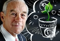 Ron Paul Blames Quantitative Easing For the Cryptocurrency Surge