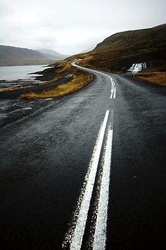 Posiblemente uná bella carretera en Escocia