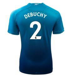 Adult #2 DEBUCHY Arsenal Away Blue Soccer Jersey 2017/18 Arsenal Jersey, Soccer, Sweatshirts, Sports, Sweaters, Blue, Shopping, Tops, Futbol