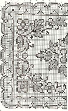 Kira scheme crochet: Scheme crochet no. 1282