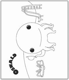 Oswald The Octopus Coloring Page | Henri 1st Birthday | Pinterest