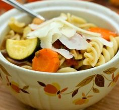 """Minestrone Soup:    Minestrone Soup  """"I appreciated the easiness of making this in the Crock-Pot! It made for a wonderfully tasty lunch on a cold and dreary day."""" -Sydney Mike"""
