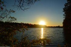 Sunset Over Parker Pond at Maple Beach