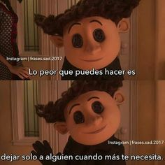 Desmotiva Words Can Hurt, Love Phrases, Im Sad, Coraline, Spanish Quotes, Gangsters, Book Quotes, Anime, Memes