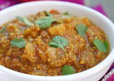 instant pot baingan bharta by ashley of myheartbeets.com