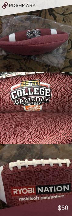 d31ba2486d989 Official ESPN GAMEDAY Built By Home Depot Football 🏈 ready to be inflated  and used.