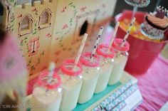 Princess Castle Theme Birthday Party - Kara's Party Ideas - The Place for All Things Party