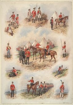 British; The West Suffolks(63rd & 96th Foot), 1775-1893 by Orlando Norie