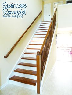 Simply Designing with Ashley: Staircase Make-Over {Part 6}: the finishing touches