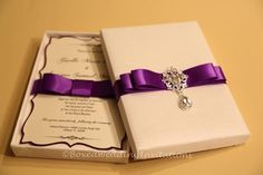 Luxury wedding invitation  See more at www.boxedweddinginvitations.com  #invitation #wedding #bride