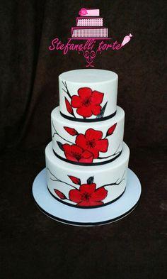 wedding cake by stefanelli torte - http://cakesdecor.com/cakes/276945-wedding-cake