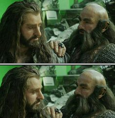 Richard Armitage as Thorin Oakenshield in The Hobbit: The Battle of The Five Armies (2012) Behind the Scenes Extended Edition