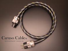 Caruso Cable®  High End Audio Equipment  : Caruso Cable®   Catalogo 2016/17