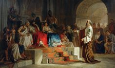 Nikolai K Bodarevski - Trial of the Apostle Paul