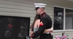 This injured soccer player was in for a big surprise when her Marine brother showed up to surprise her for her sweet 16 party.