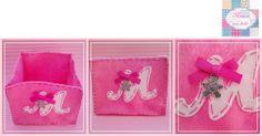 Que amorosa que ficou a caixinha da princesa Mafalda    Muito útil para ter sempre à mão as famosas gotas cor de rosa e a chupetinha :)    +INFO: mimeoseubebe@gmail.com  #mimeoseubebe #caixalinda #bebe #enxoval #gotascorderosa