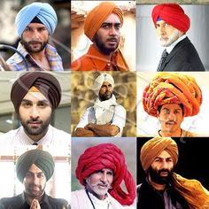 Men's Turbans Are Now In Action !!!