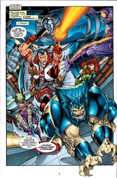 Youngblood - Berzerkers by Rob Liefeld