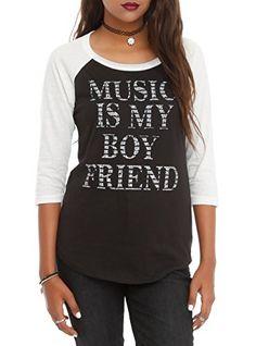 Music Is My Boyfriend Girls Raglan Size : Large Hot Topic http://www.amazon.com/dp/B00M52CIYW/ref=cm_sw_r_pi_dp_u1Levb1NN74BS