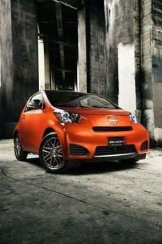 The iQ, Scion's new model, is a micro-subcompact city car