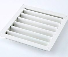 New Craft Storage Ideas Using Unexpected Items - Large wall louver (used for ventilation) placed in a drawer for wooden rubber stamp storage Craft Storage Containers, Craft Room Storage, Craft Organization, Storage Ideas, Storage Solutions, Craft Rooms, Art Storage, Organization Ideas, Wooden Drawer Pulls