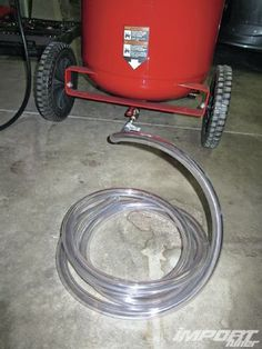 Learn how you can modify your home air compressor to make it easier to drain and keep it running like a champ