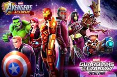 Guardians Of The Galaxy Join The Avengers Academy