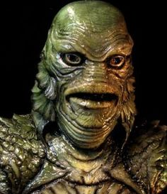 Creature From The Black Lagoon Head