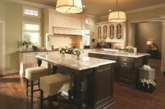 kitchen - two islands