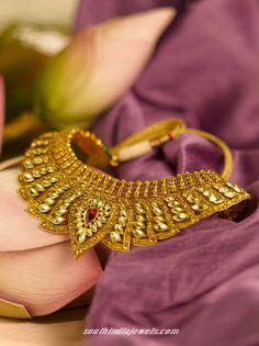 Tanishq Gold choker necklace