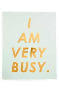 BAN.DO+'I+Am+Very+Busy'+Art+Print+available+at+#Nordstrom