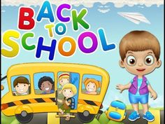 Back To School Kids Game - Baby Play & learn colors, numbers - Care game...
